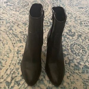 Michael Kors leather sock boots